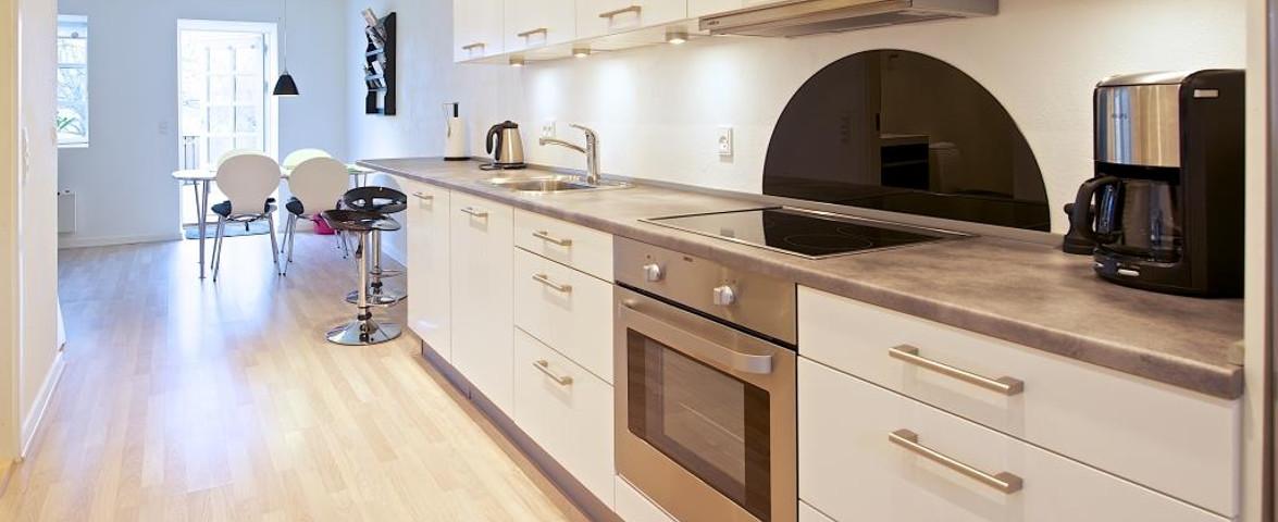 Køkken ferielejlighed/küche in Wohnung/Kitchen Apartment
