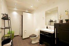 Badeværelse Ferielejlighed/ Badezimmer Ferienwohnung/Bathroom Apartment